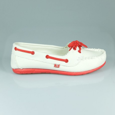 Hey Dude Shoes POSITANO WHITE RED